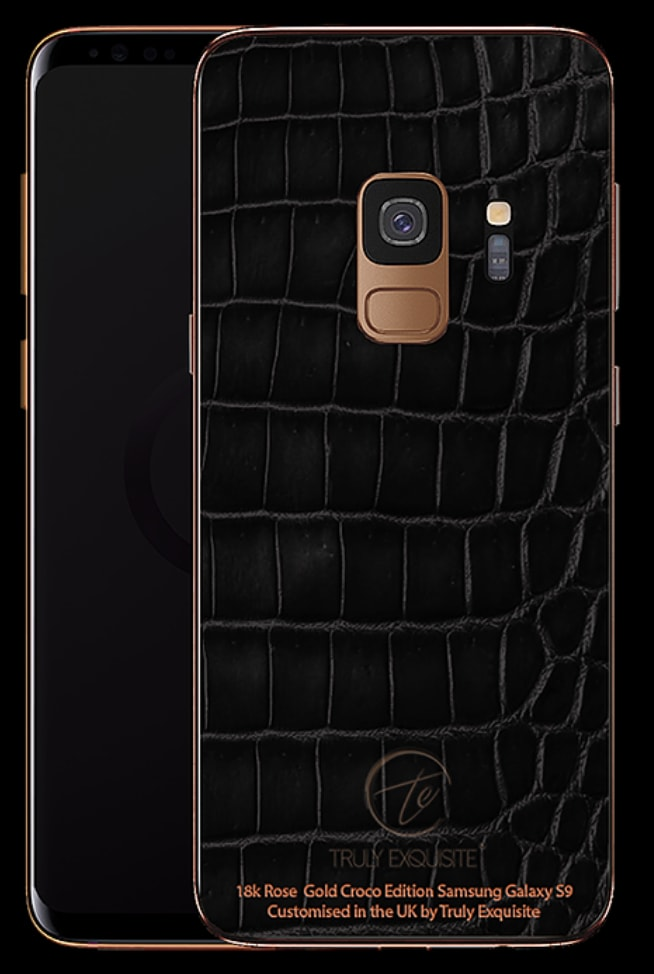 Truly Exquisite Samsung S9 Series Gold Cases 08