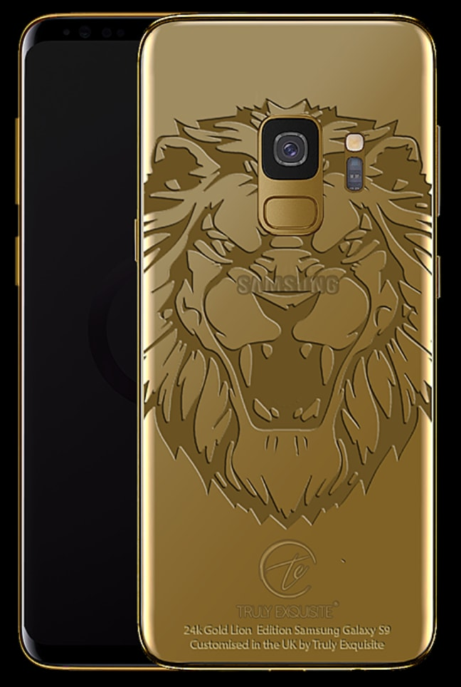 Truly Exquisite Samsung S9 Series Gold Cases 11