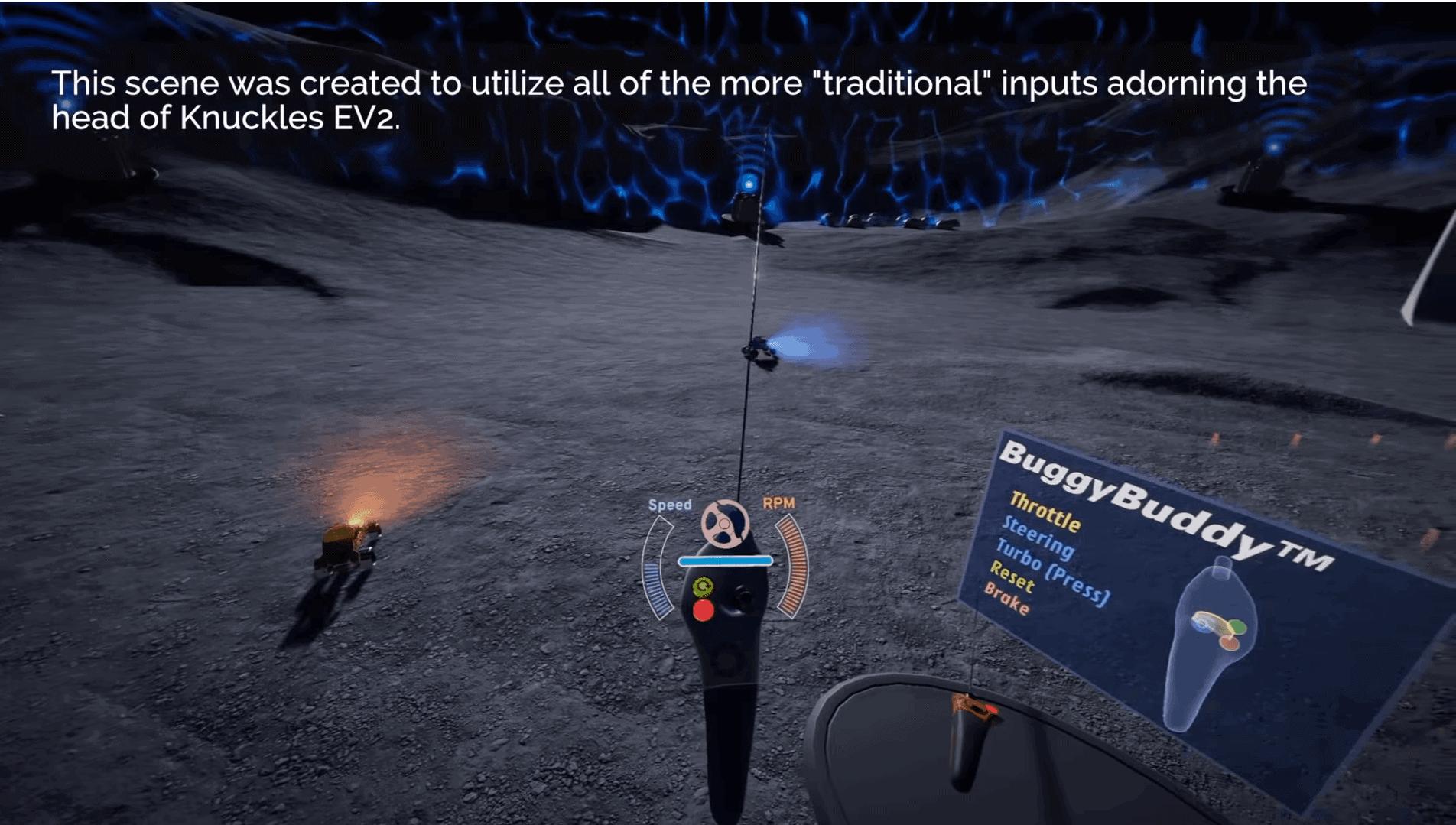 Valve VR knuckles 3