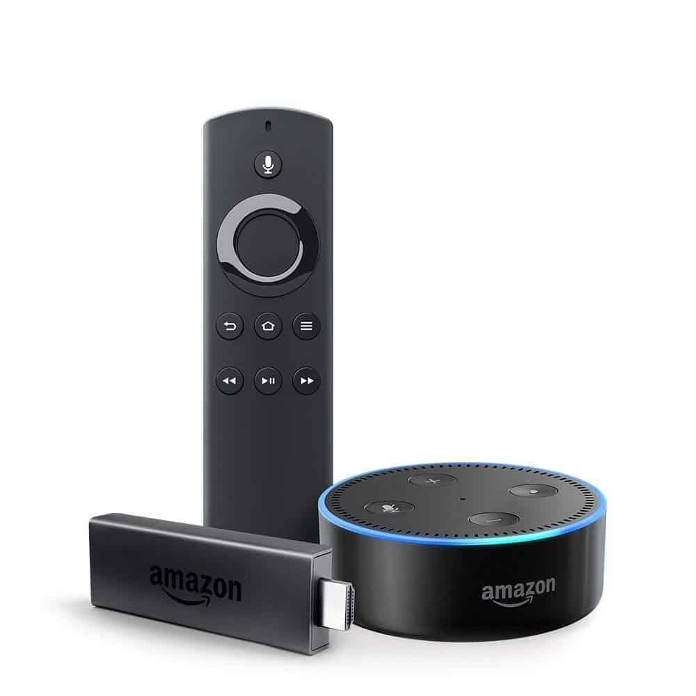 Amazon Fire TV Stick & Echo Dot - (Amazon)