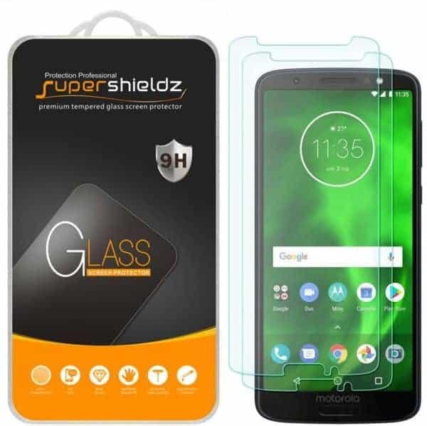 Supershieldz for Motorola Moto G6 Tempered Glass Screen Protector