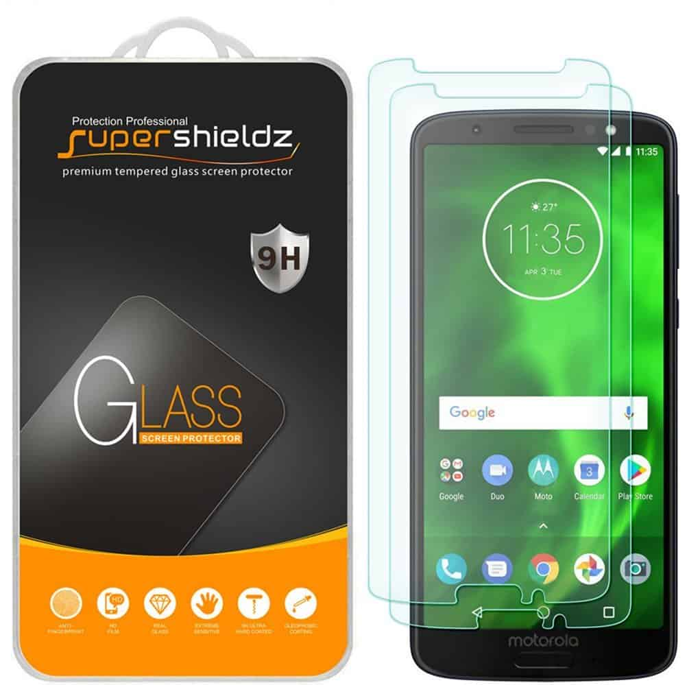 Supershieldz for Motorola Moto G6 Tempered Glass Screen Protector