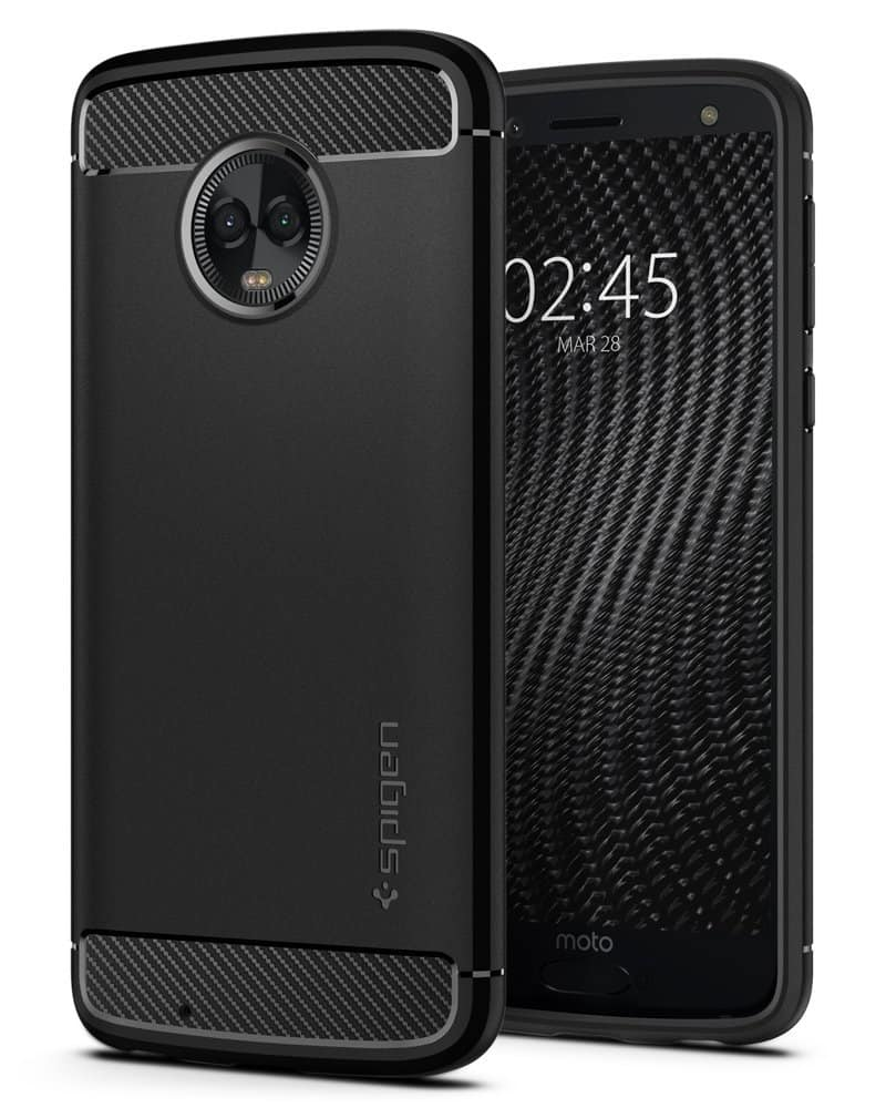 Spigen Rugged Armor Moto G6 Case