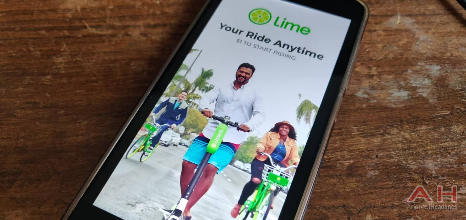 AH Lime startup 1