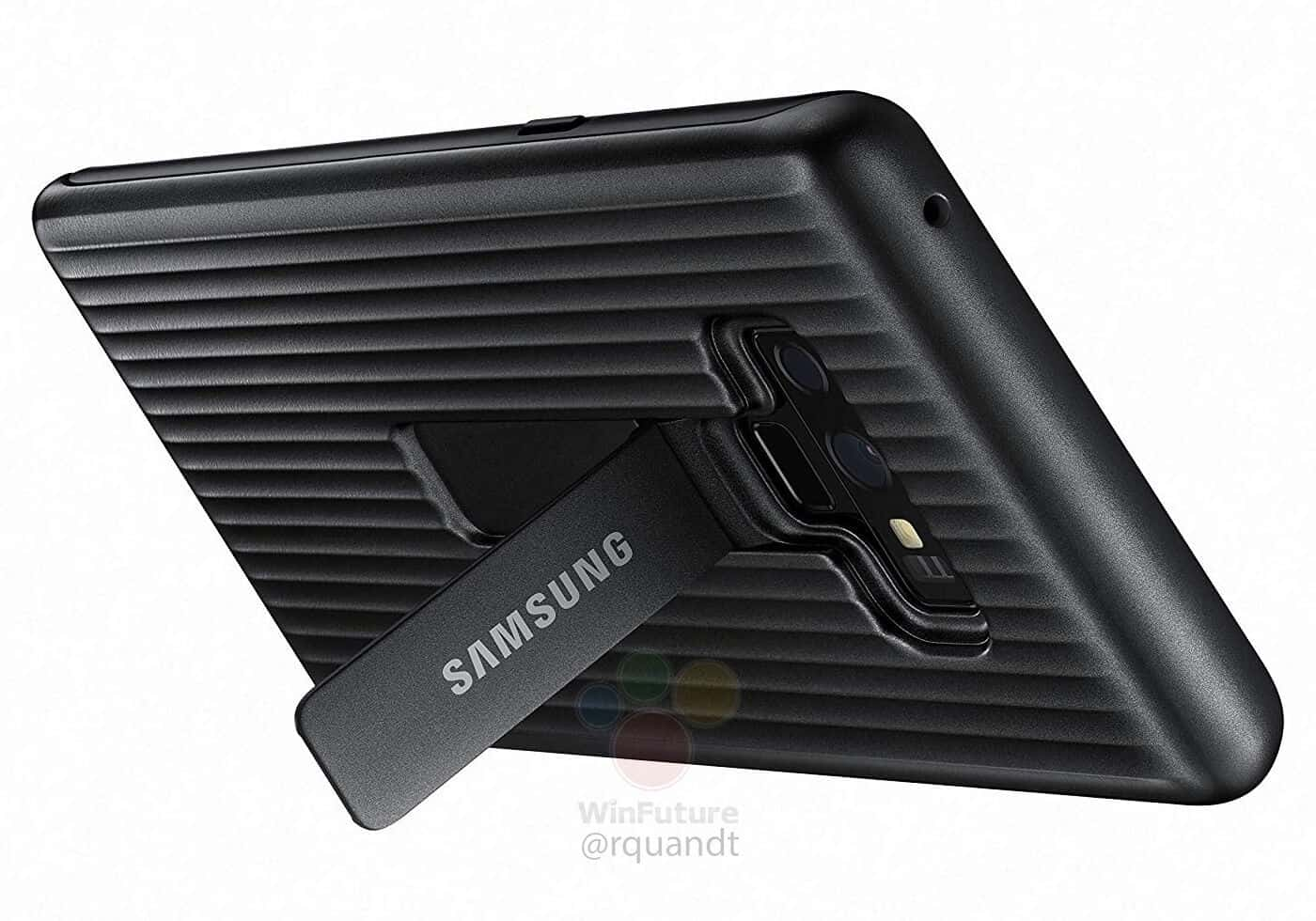 Galaxy Note 9 Protected Stand Cover Leak 01