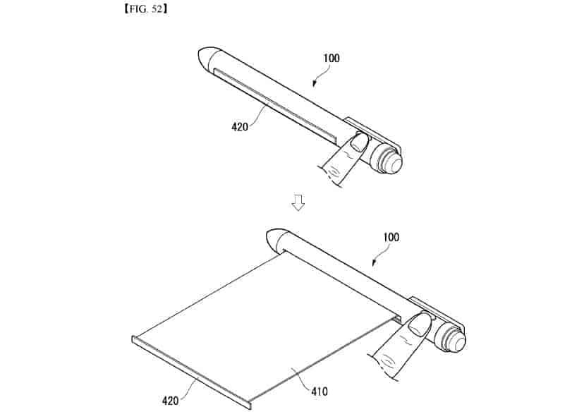 LG smart pen patent 12