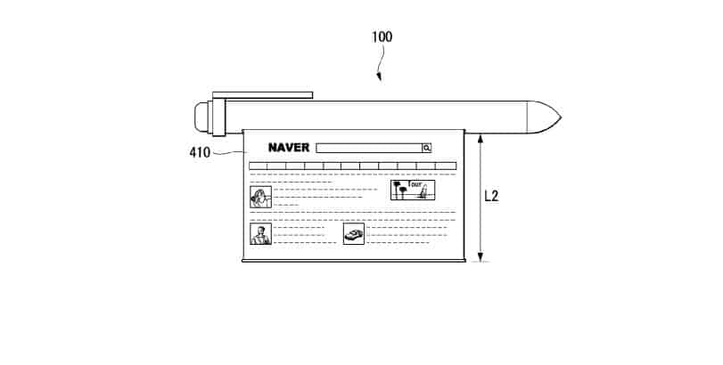 LG smart pen patent 13