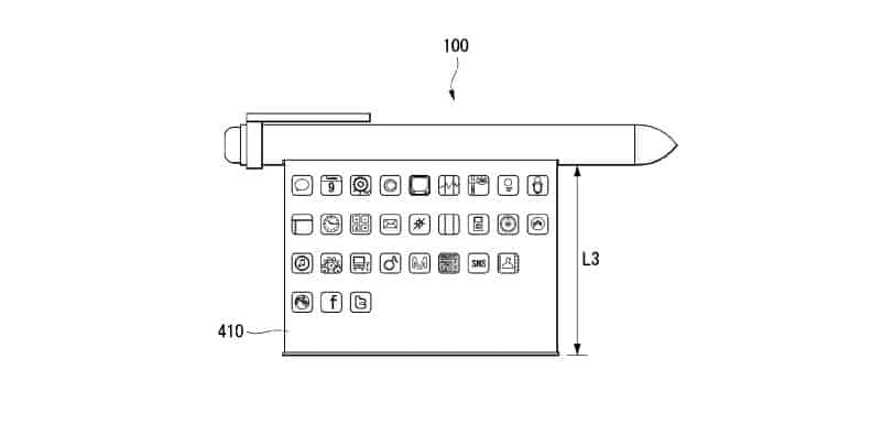 LG smart pen patent 14