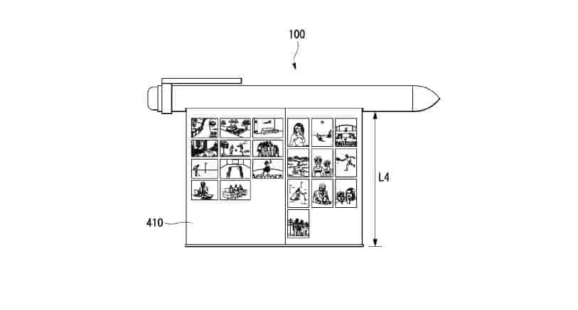 LG smart pen patent 15