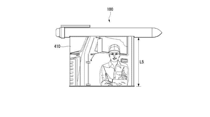 LG smart pen patent 16