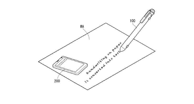 LG smart pen patent 4
