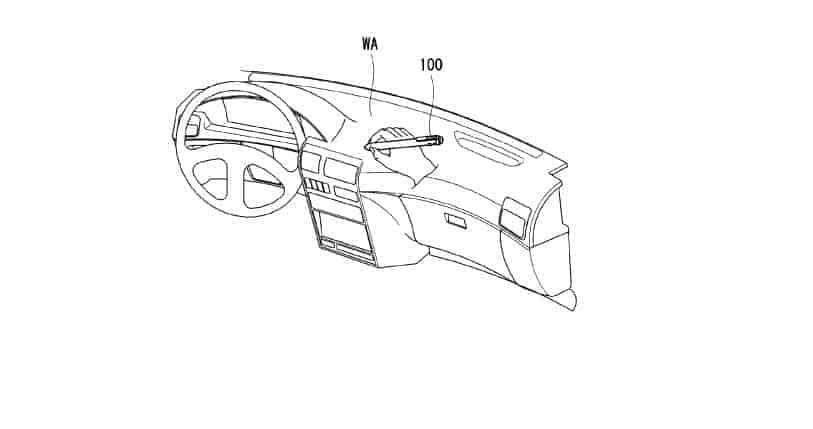 LG smart pen patent 5