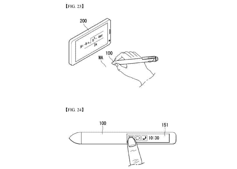 LG smart pen patent 6
