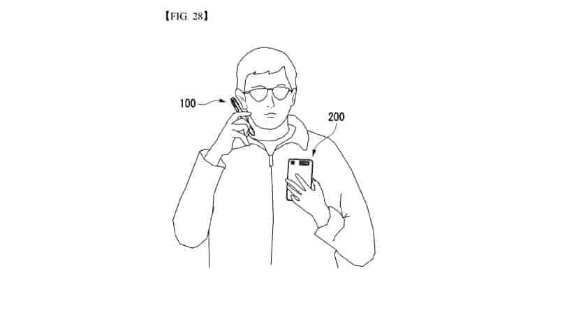LG smart pen patent 7