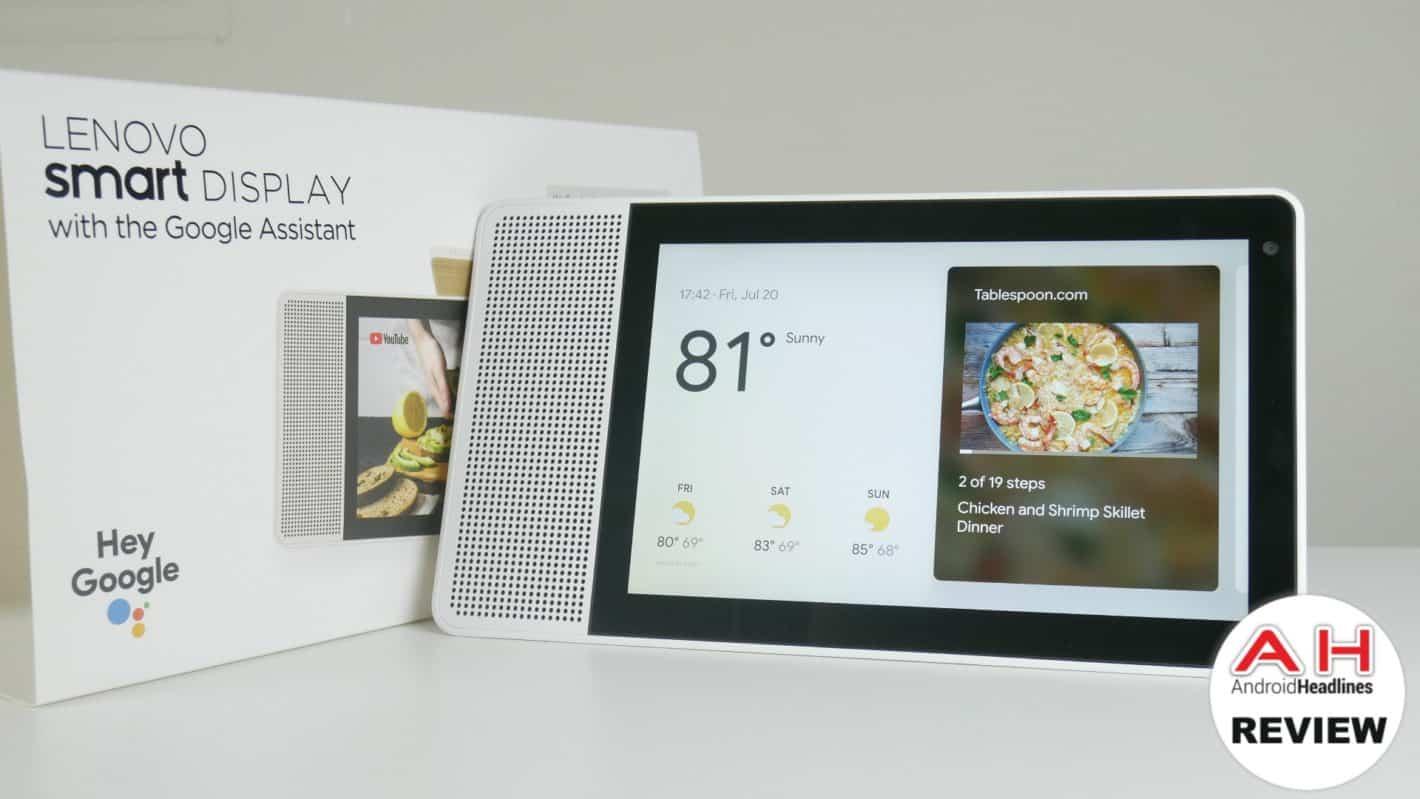 Lenovo Smart Display Review AH 02