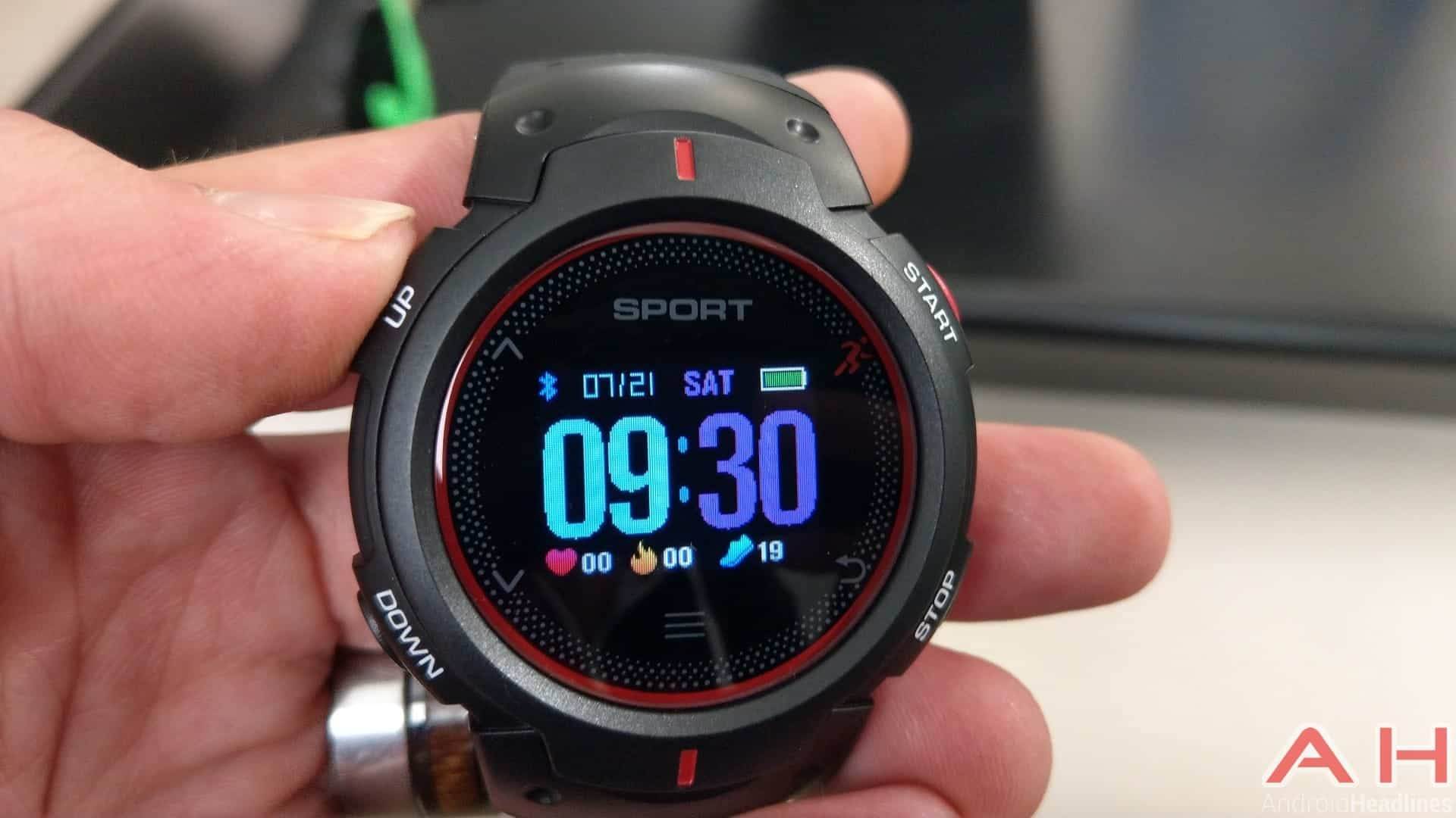NO.1 F13 Smartwatch Review Software Gallery 24 AH