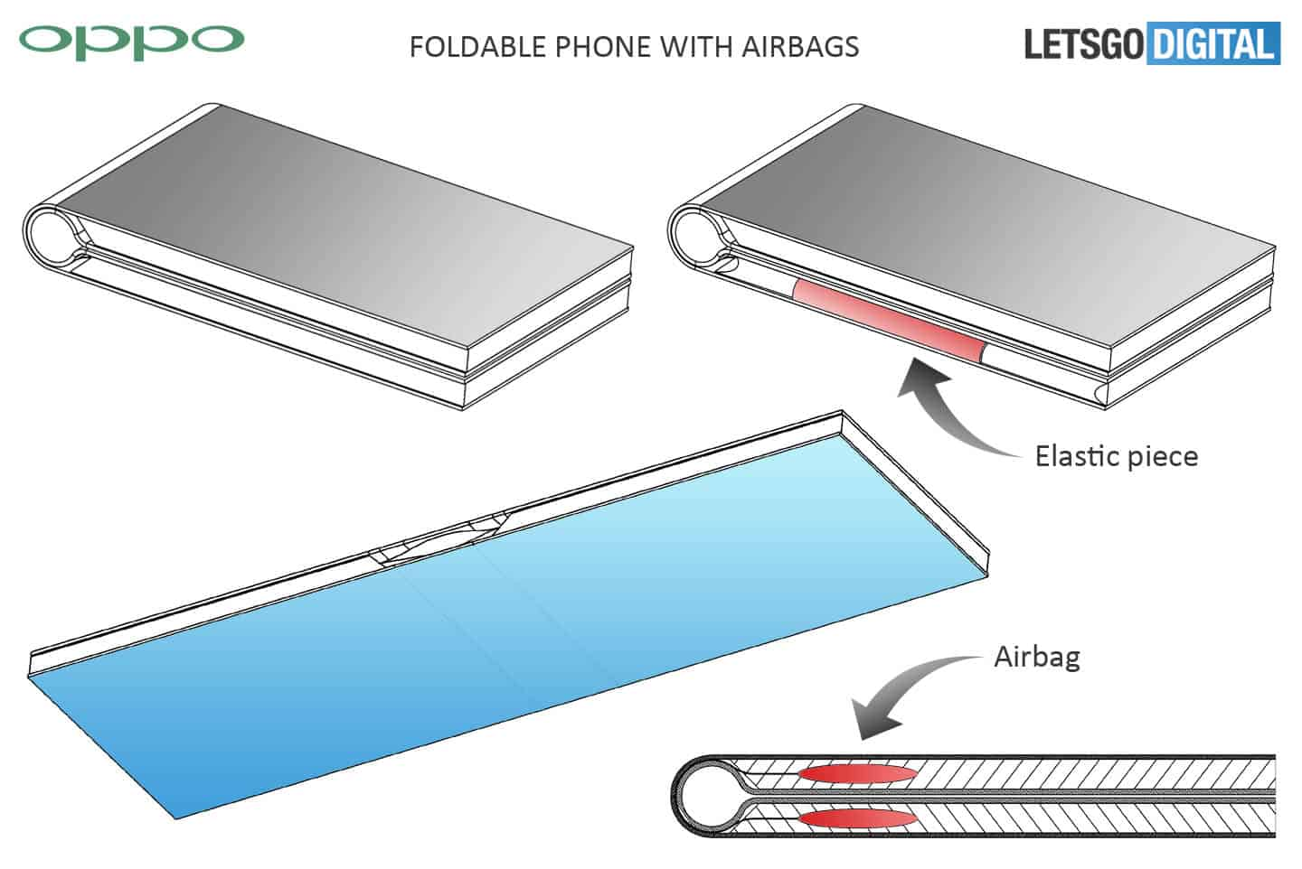OPPO foldable smartphone patent 1
