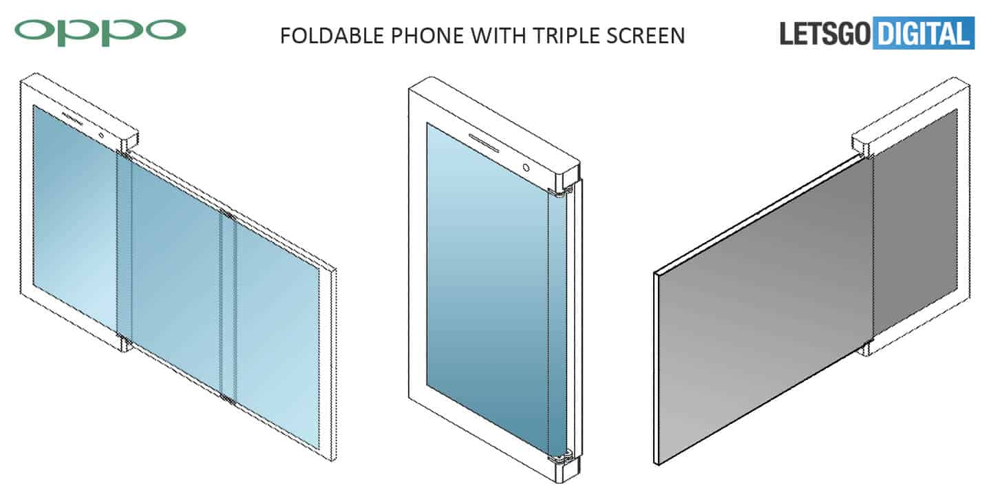 OPPO foldable smartphone patent 2