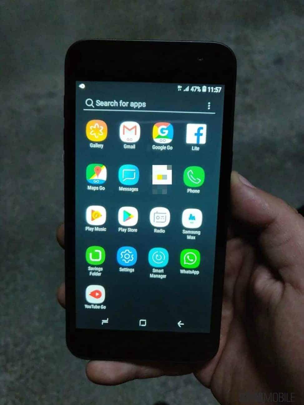 Samsung Android Go Phone SamMobile 1