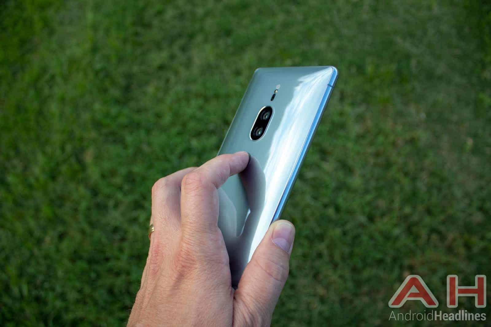 Sony Xperia XZ2 Premium AH NS 08 fingerprint use