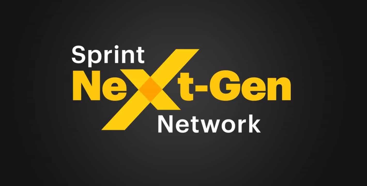 Sprint Next Generation 5G Network Screenshot