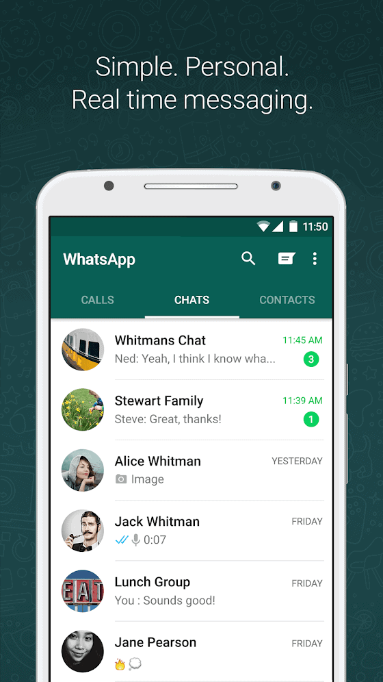 Top 10 Best Android Apps — Messaging — July 2018