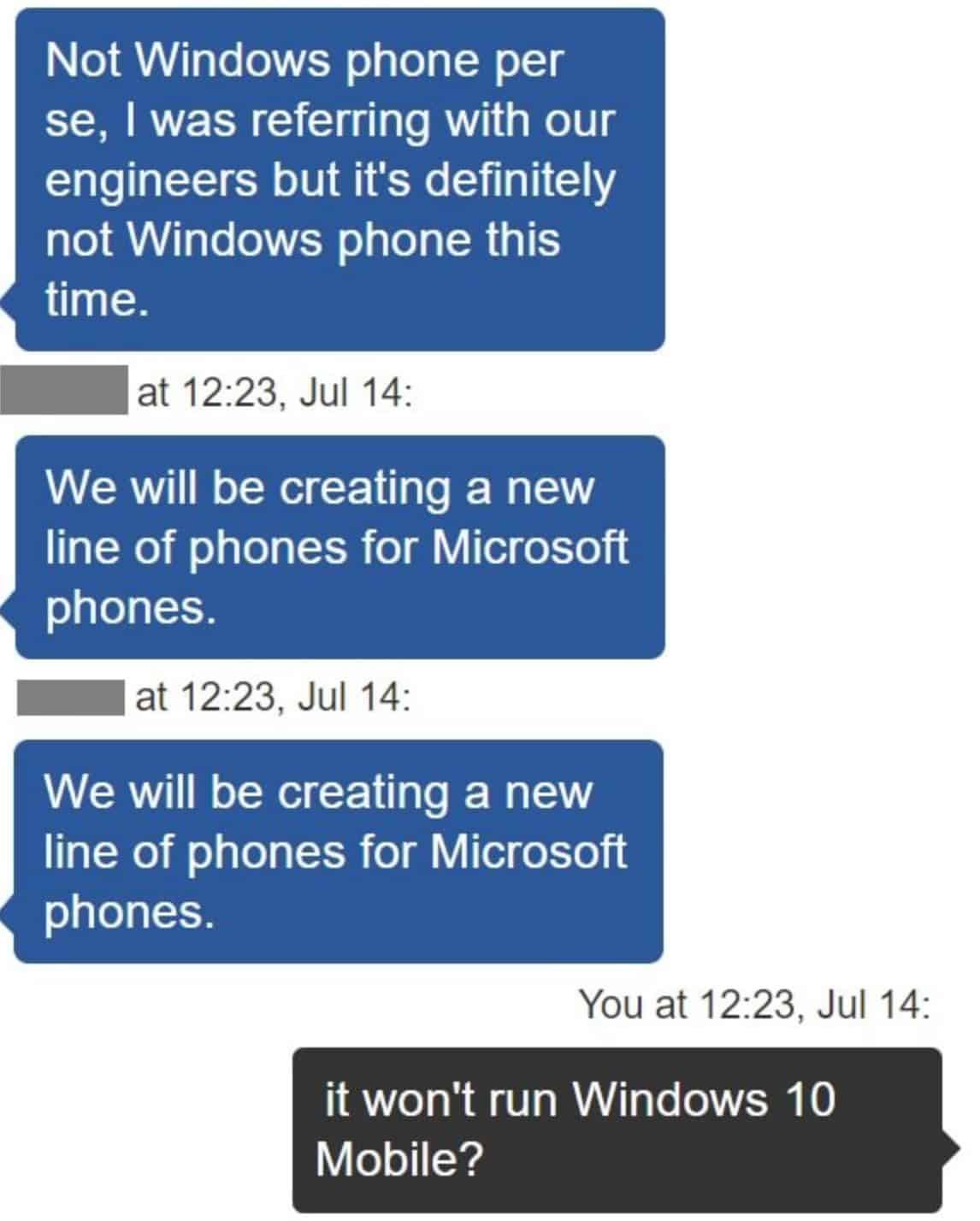 No Surface Phone Coming In The Near Future: Microsoft Exec ...