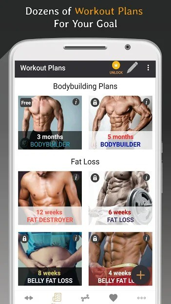 Top 10 Android Apps – Bodybuilding – July 2018