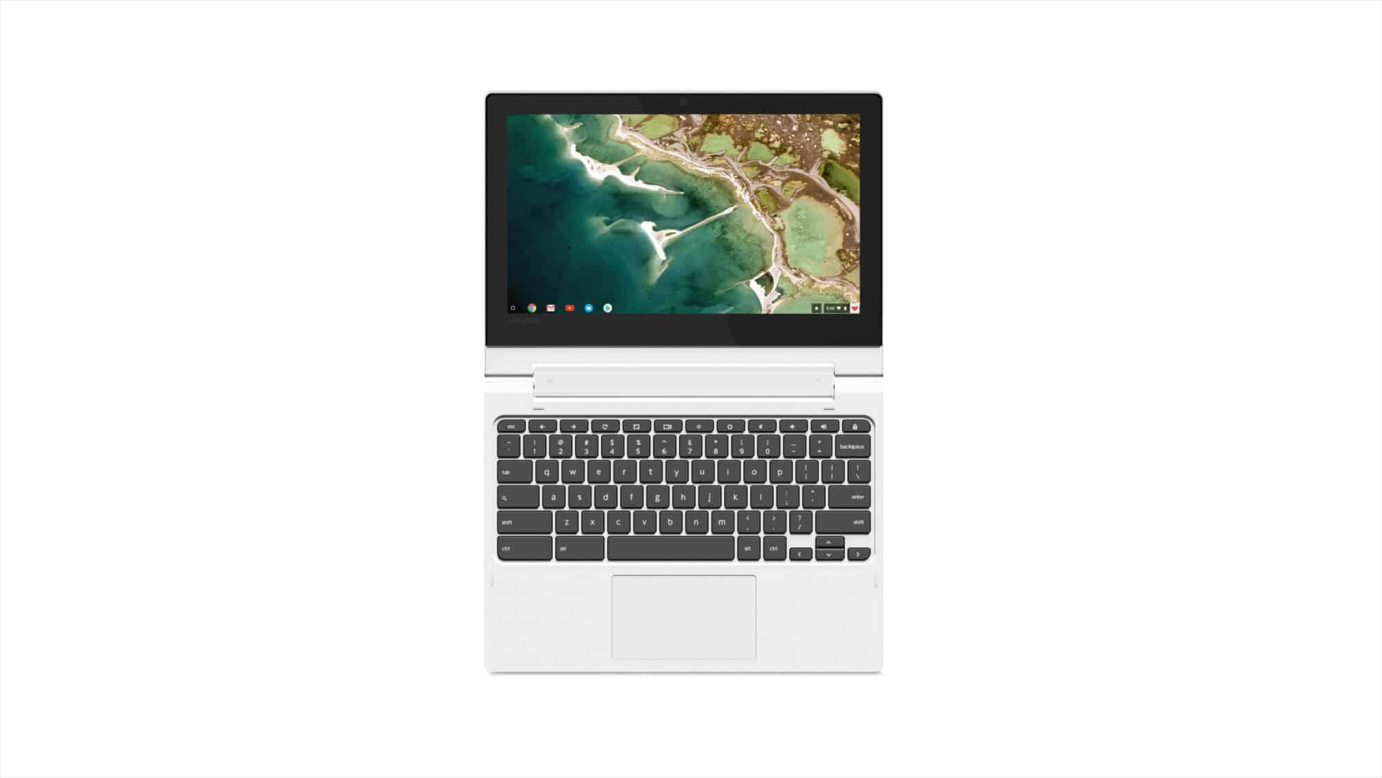16 Chromebook C330 Front Facing Forward