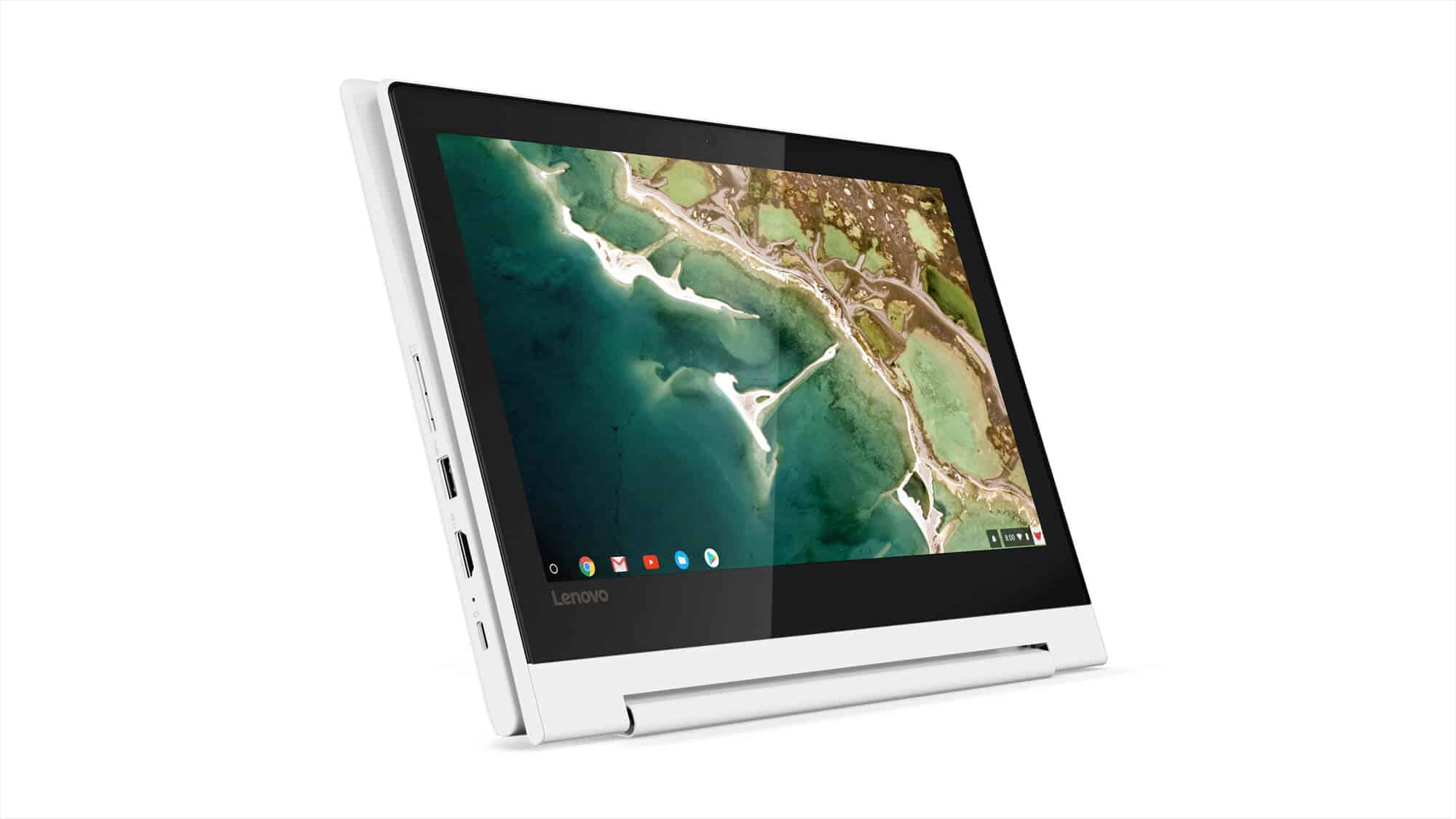 18 Chromebook C330 Hero Tablet Mode Horizontal Front Facing