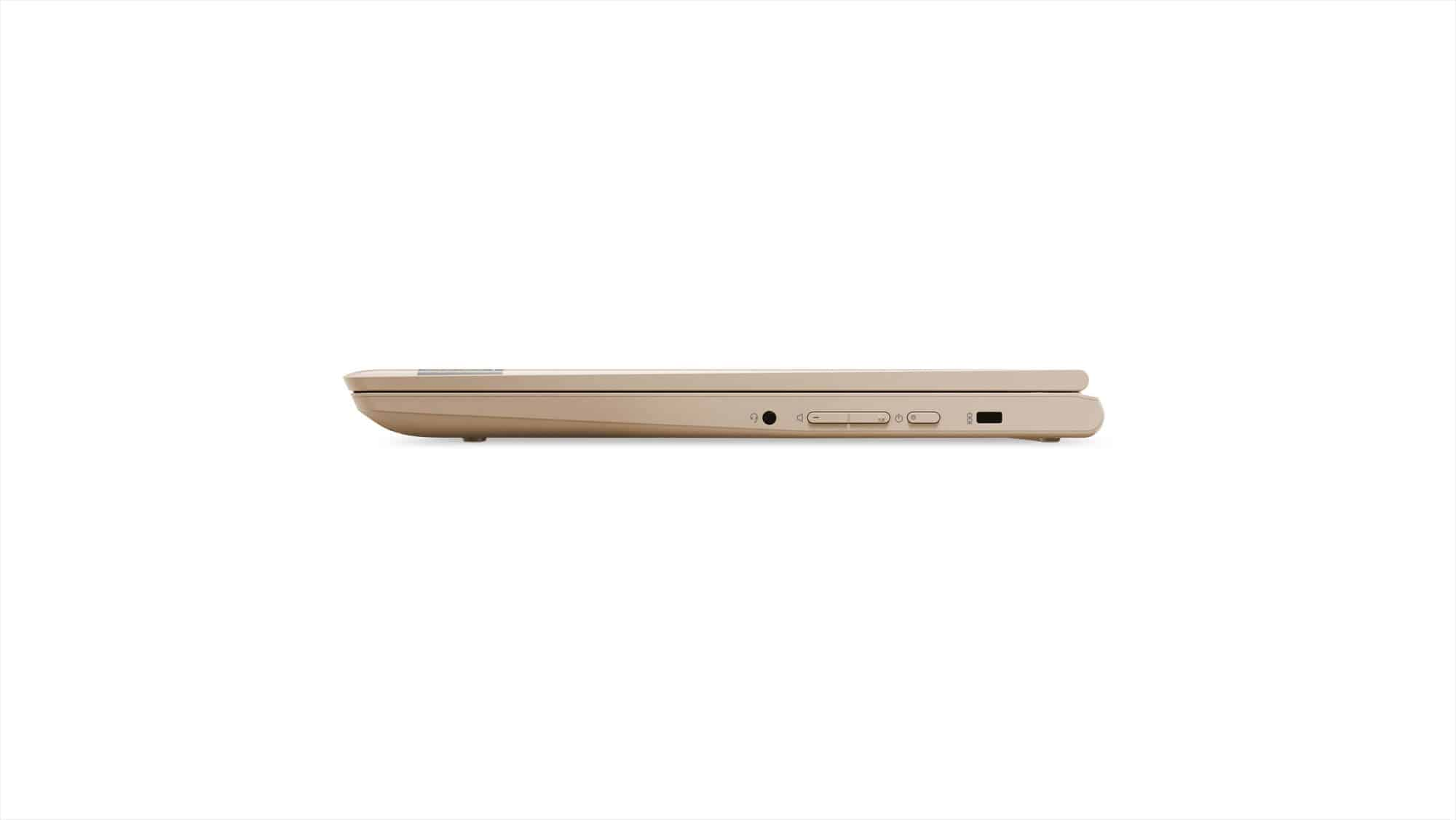 209 Chromebook C330 Tour Right Side Profile Closed BChampagne