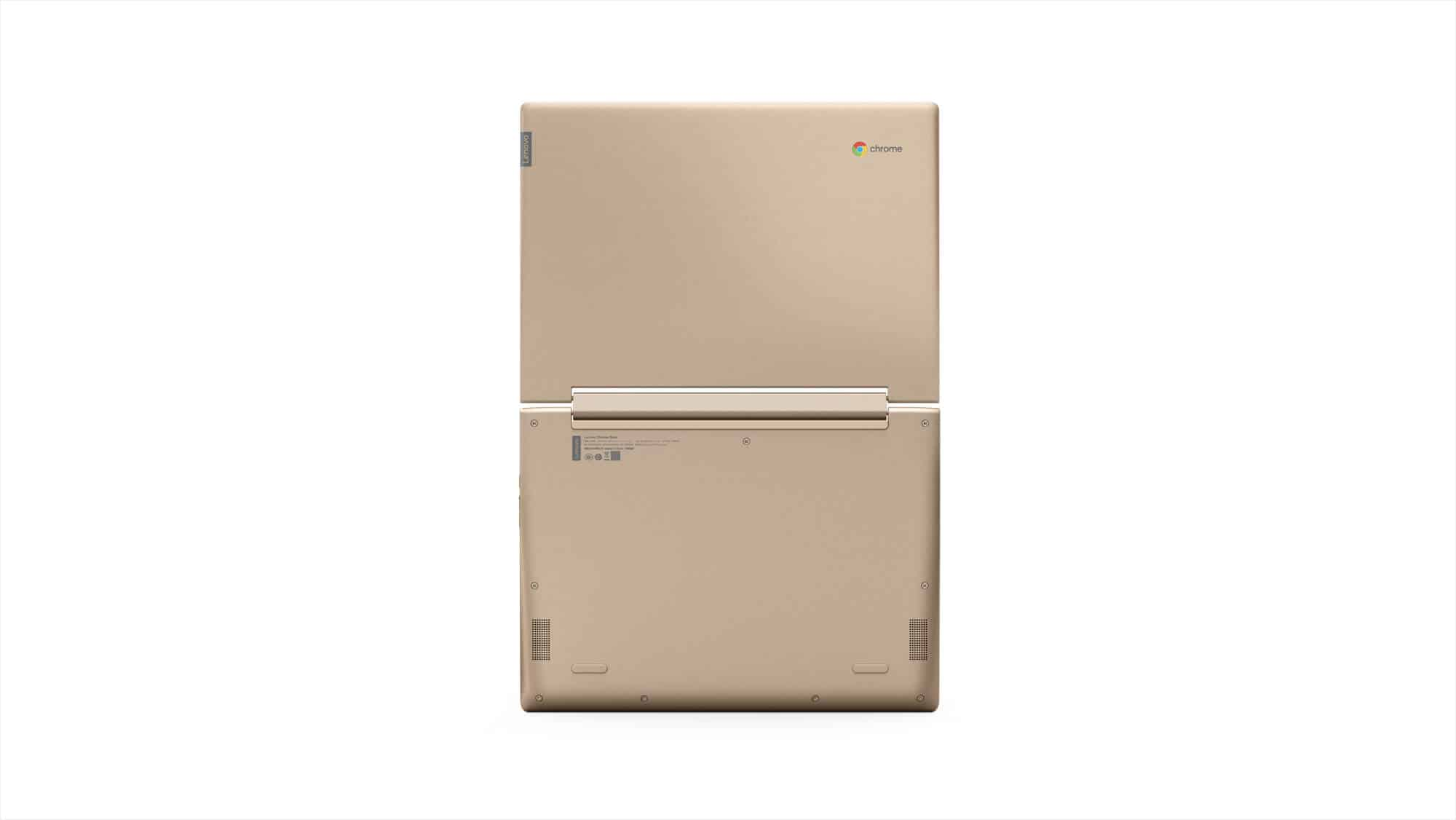 215 Chromebook C330 Rear Facing Forward Champagne
