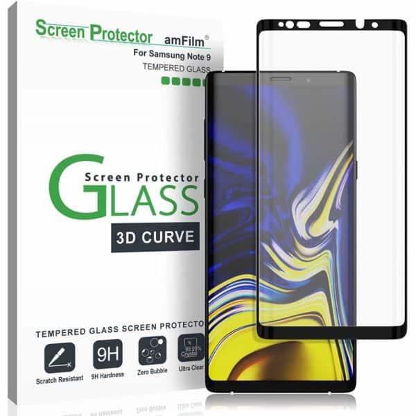 amFilm Dot Matrix 3D Curved Tempered Glass Screen Protector