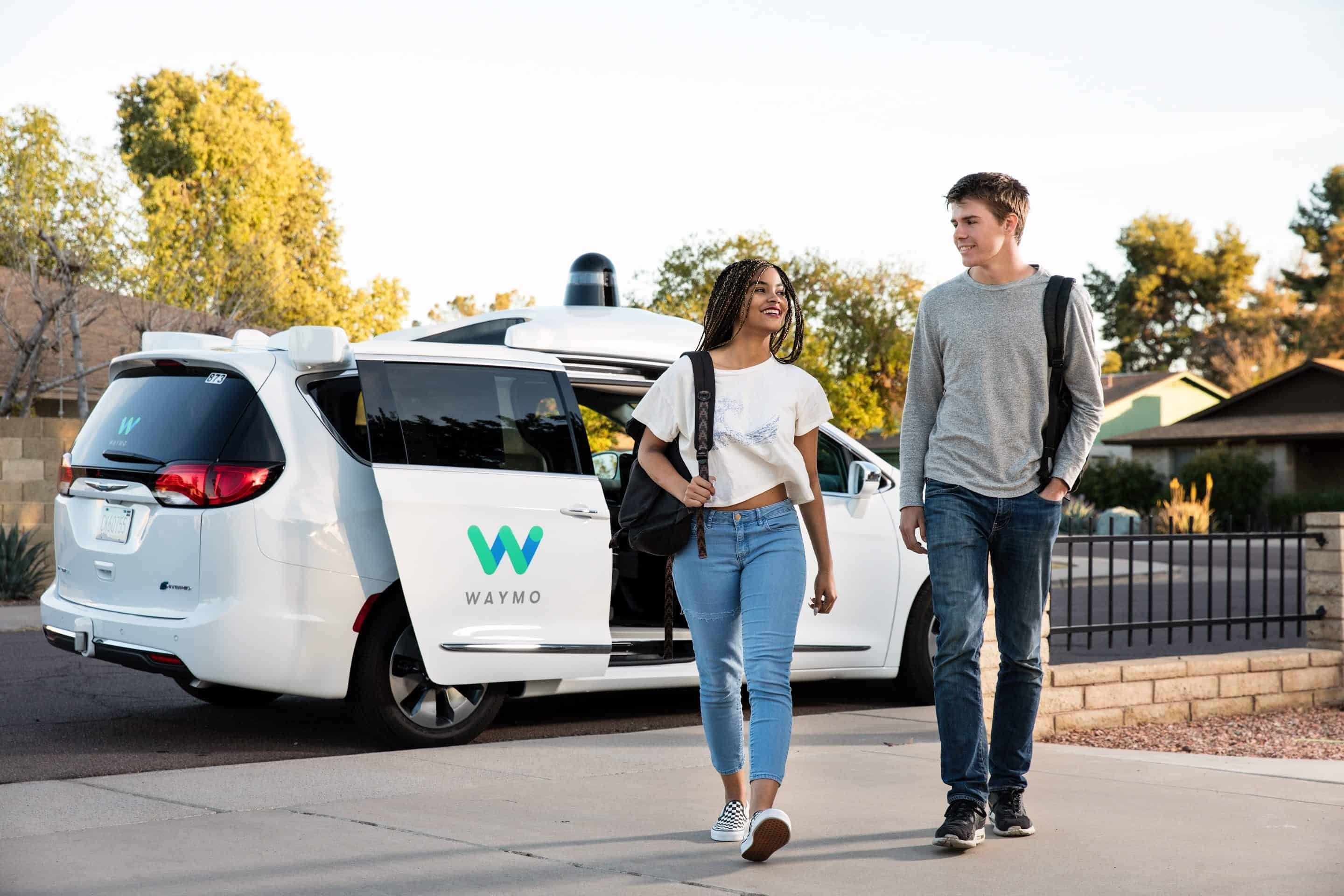 AH Self Driving Cars Waymo 4