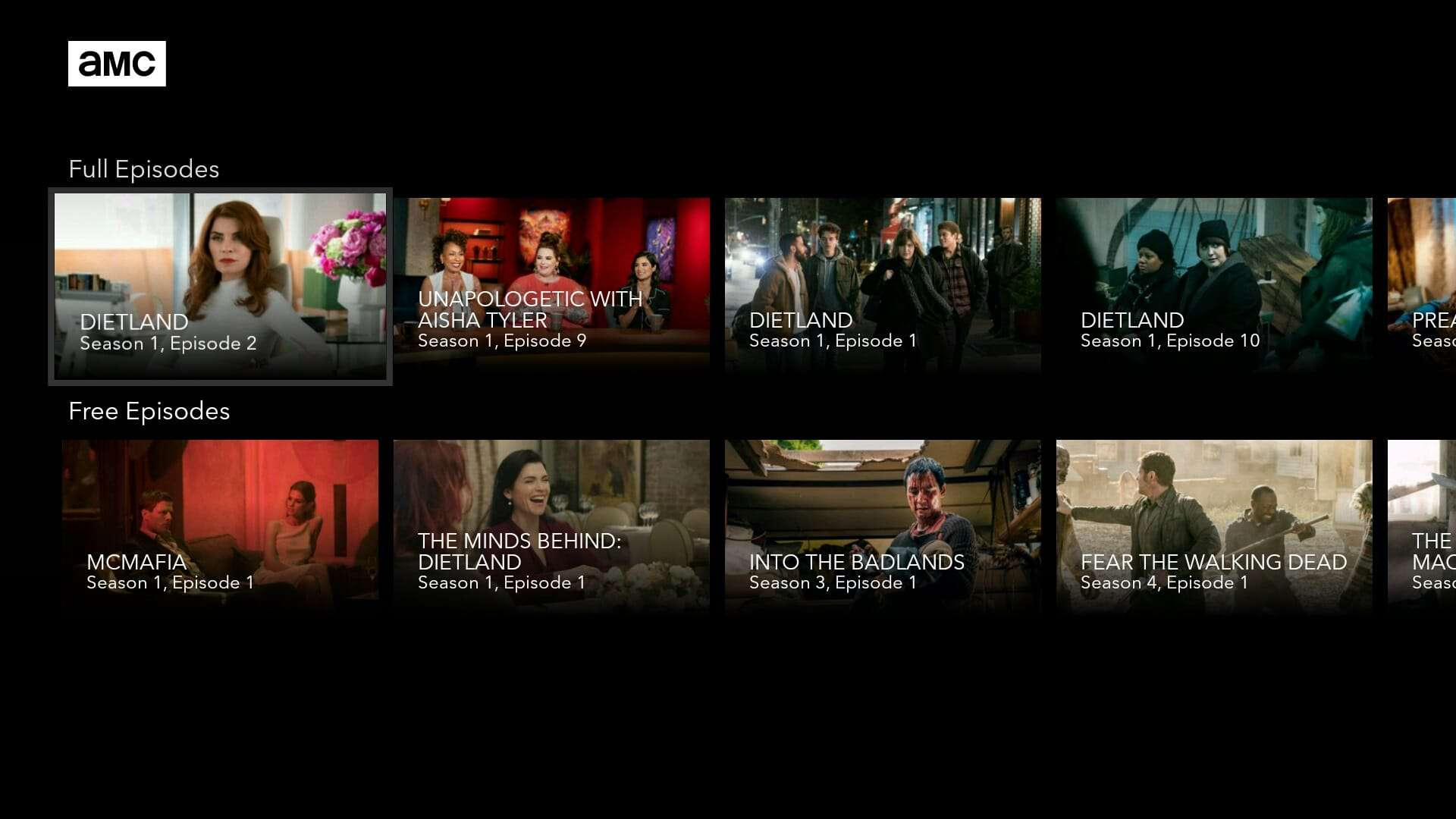 AMC Android TV App AH 02
