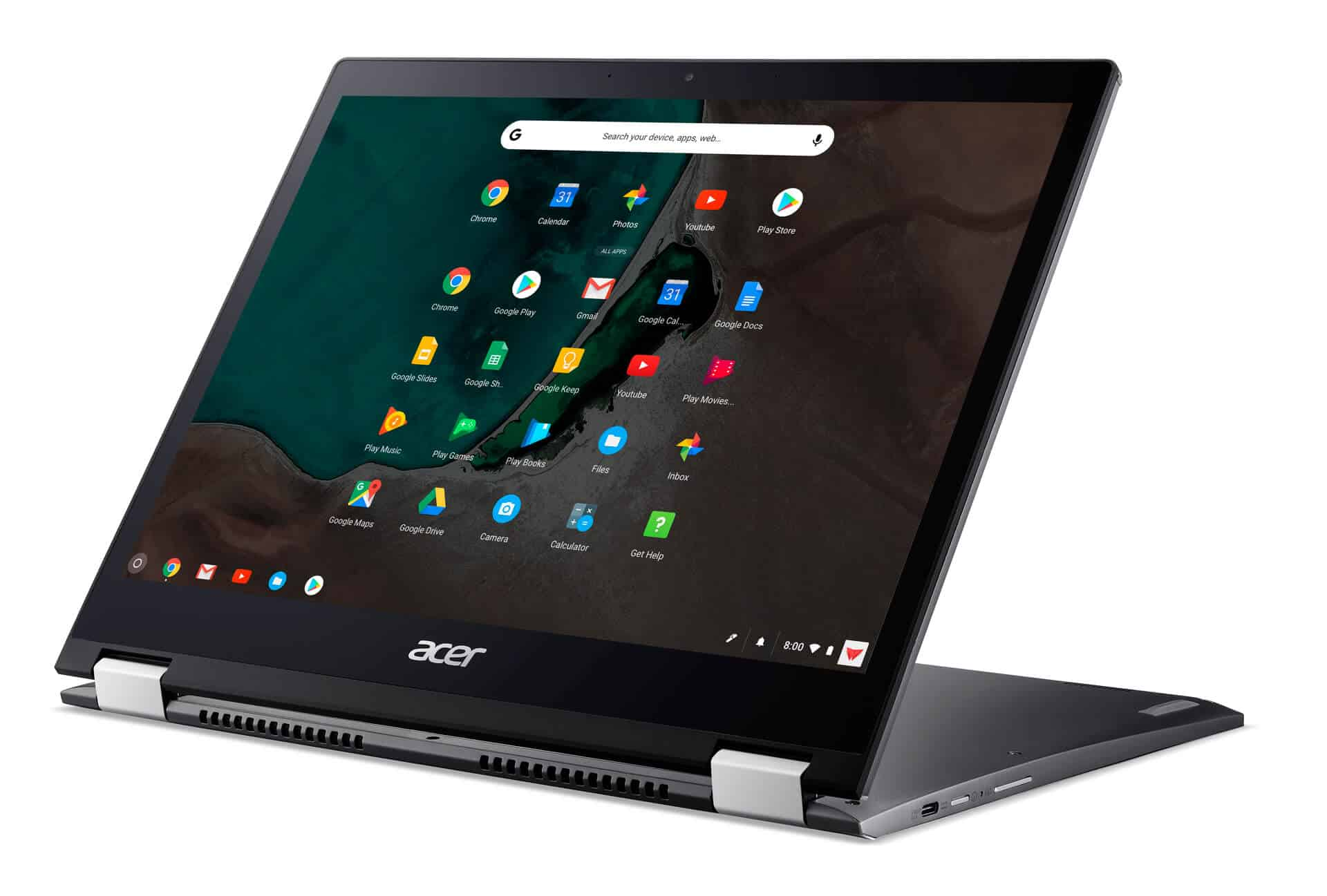 Acer Chromebook Spin 13 Play store display mode from Acer 07