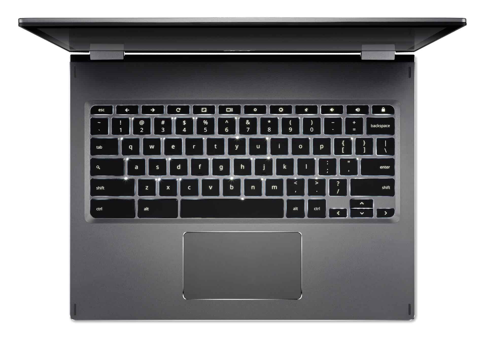 Acer Chromebook Spin 13 backlit keyboard from Acer 01