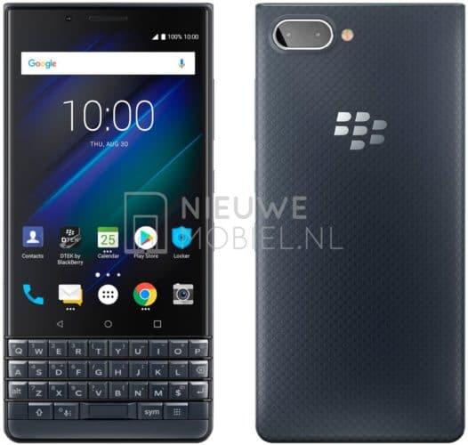 BlackBerry KEY2 LE render leak 1