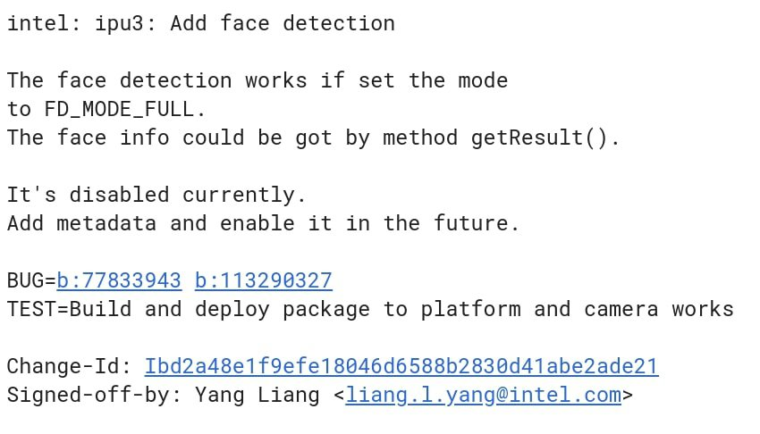 Chrome OS Face Detection Test Commit