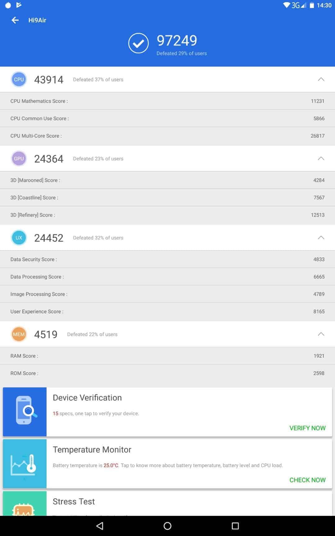 Chuwi Hi9 Air Review Screenshot Bench Results 06