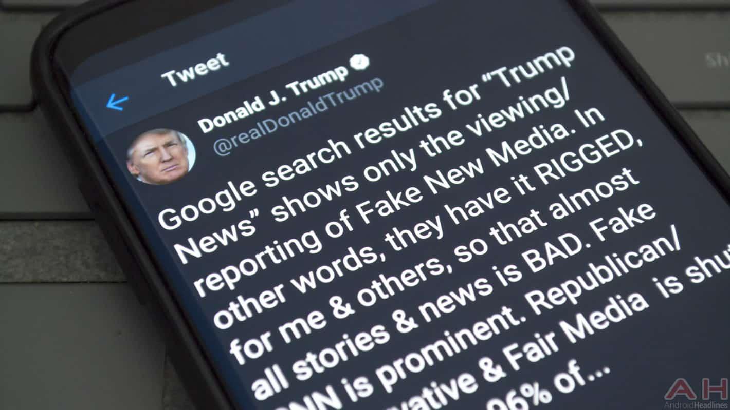 Donald Trump Twitter Google Tirade August 28 2018 AH