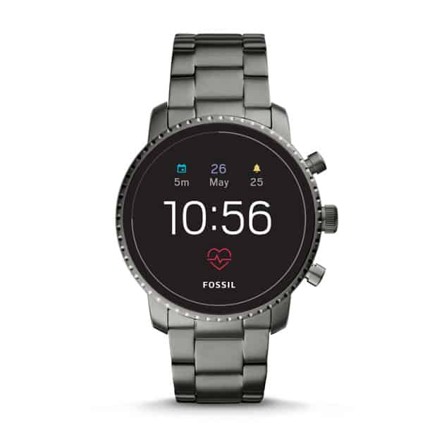 Fossil Q Explorist HR Smoke Stainless Steel Gen 4 1