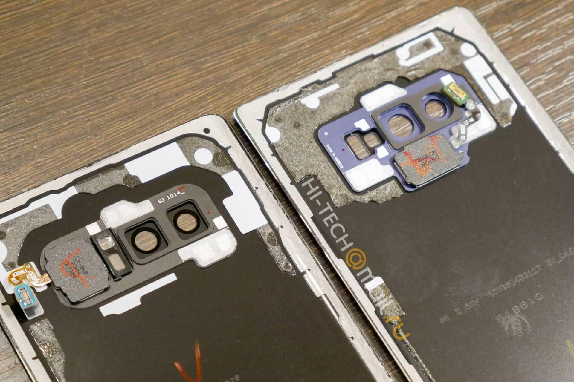 Galaxy Note 8 v Galaxy Note 9 teardown from Hi Tech Mail RU 04