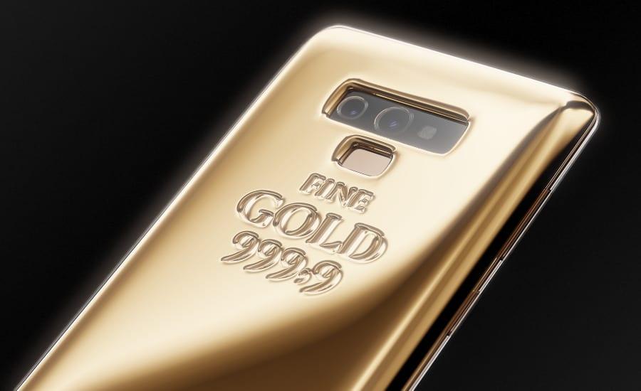 Galaxy Note 9 Fine Gold Edition 2