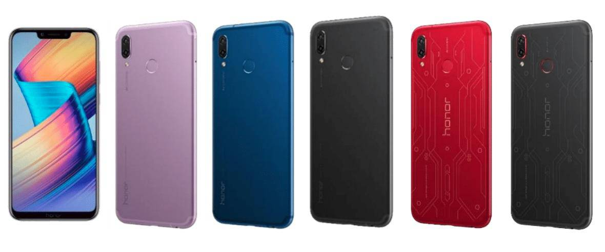 Honor Play colors 1