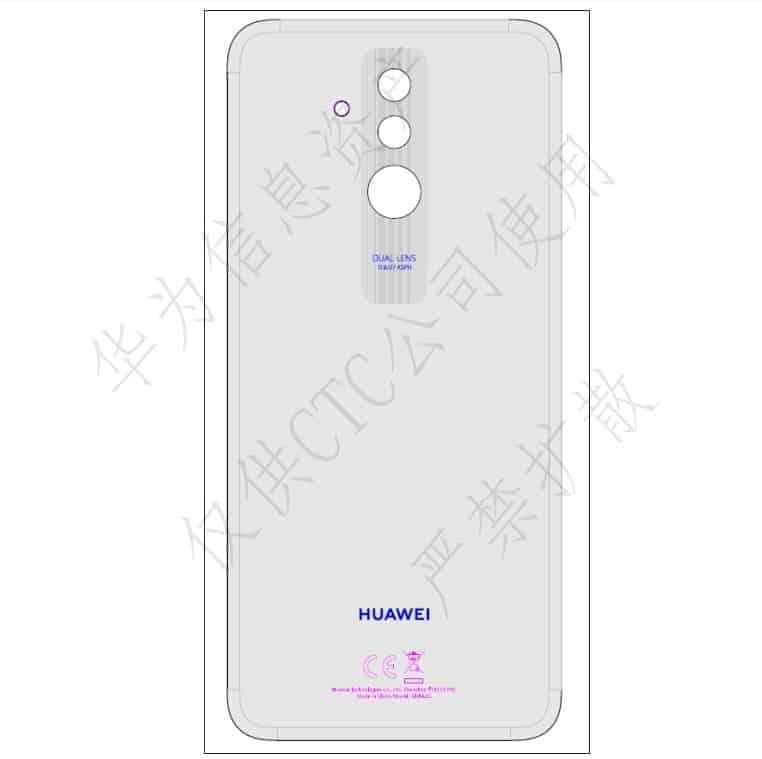 Huawei Mate 20 Lite FCC 1