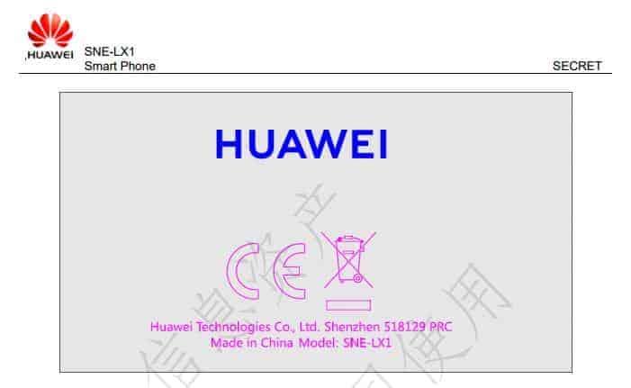 Huawei Mate 20 Lite FCC 2