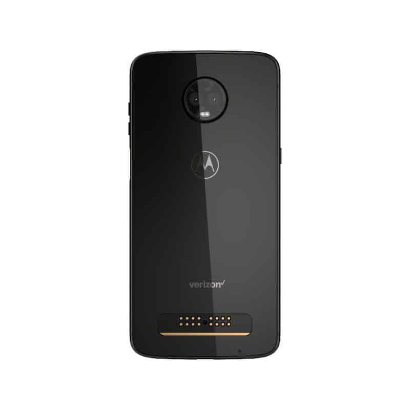 MotoZ3 Verizon Black Backside