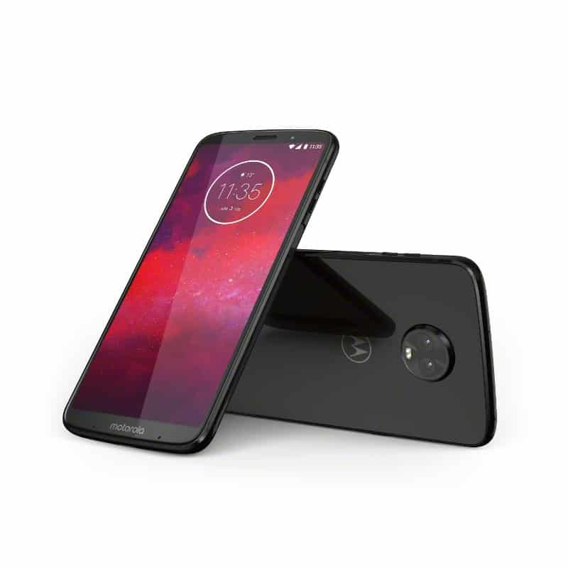 Moto Z3 debuts with fingerprint scanner on the side, 5G mod - GSMArena.com news