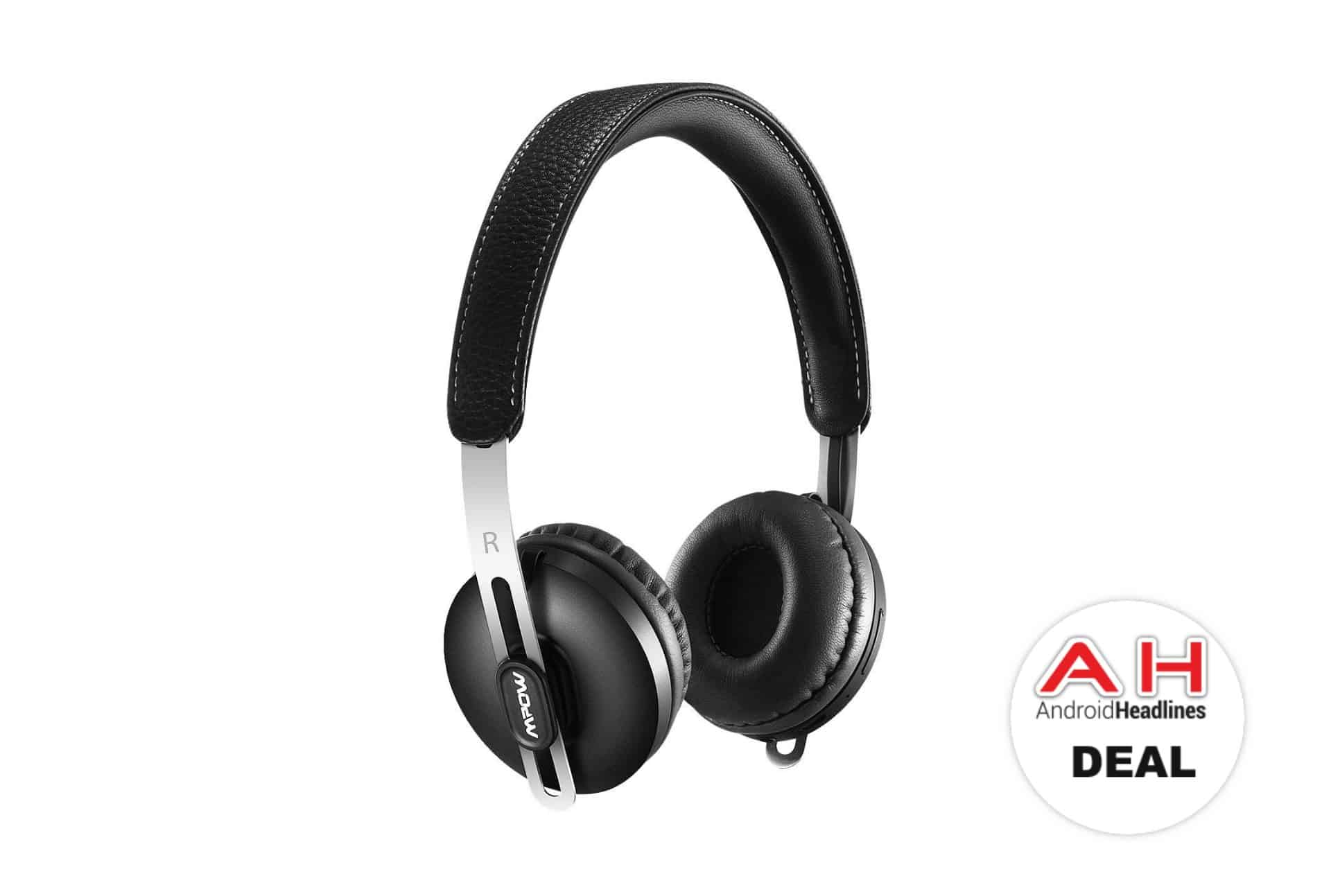 Mpow Lightweight Wireless Headphones Deal AH